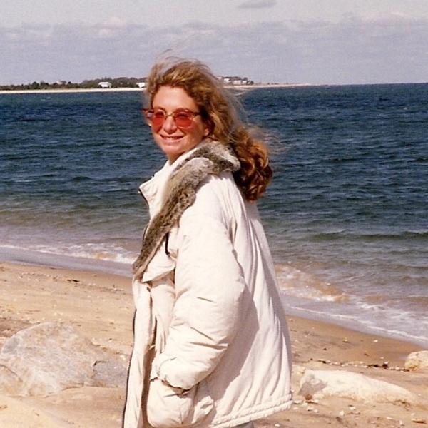 Laurie beach photo
